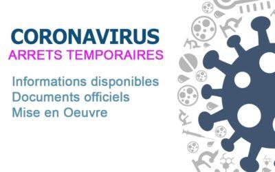ARRETS TEMPORAIRES (COVID 19)
