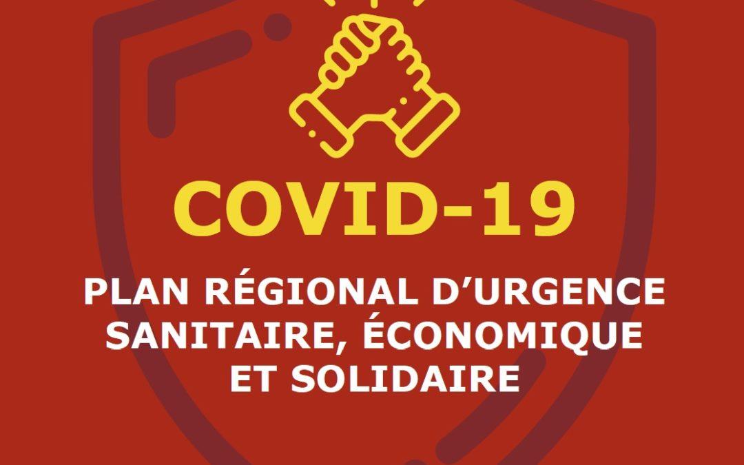 AIDES DES RÉGIONS OCCITANIE-PACA-CORSE COVID-19