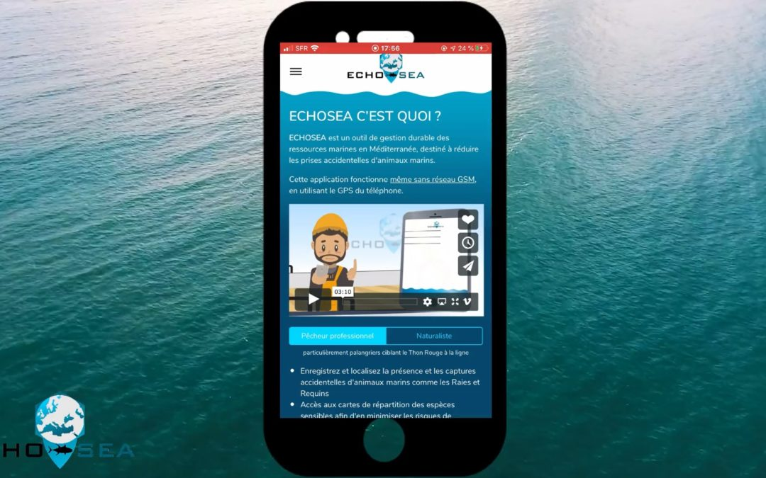 L'APPLICATION ECHOSEA : le Tuto !